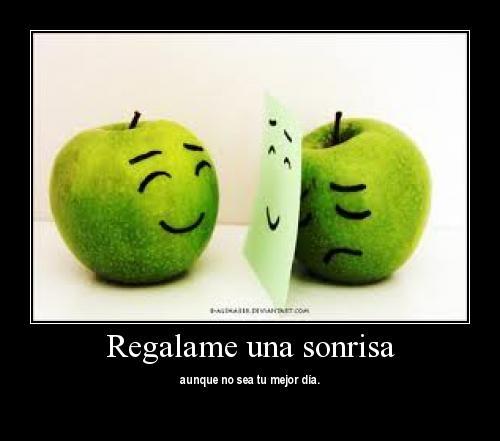 Regalame una sonrisa
