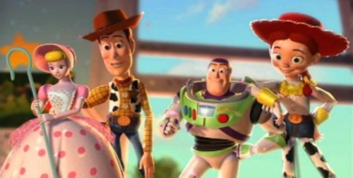 Buzz Lightyear y Jessie