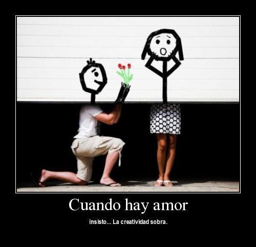 cuando hay amor