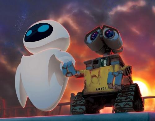 Wall E y Eva
