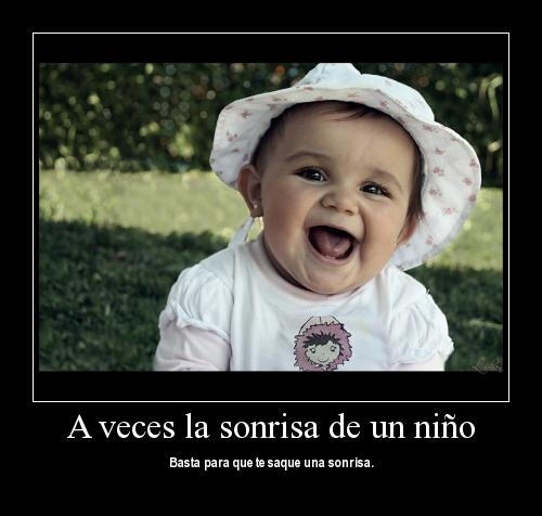 la sonrisa de un niño