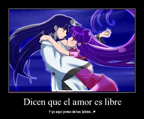 Dicen que el amor es libre