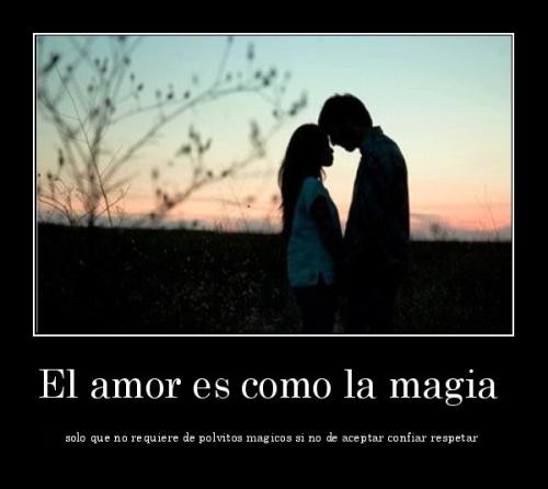 El amor es una magia
