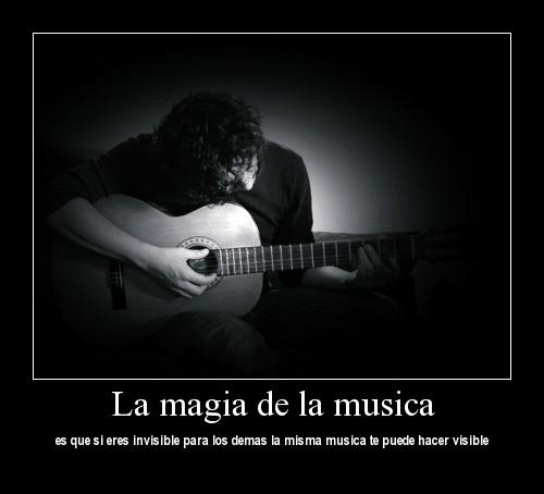 la magia de la musica