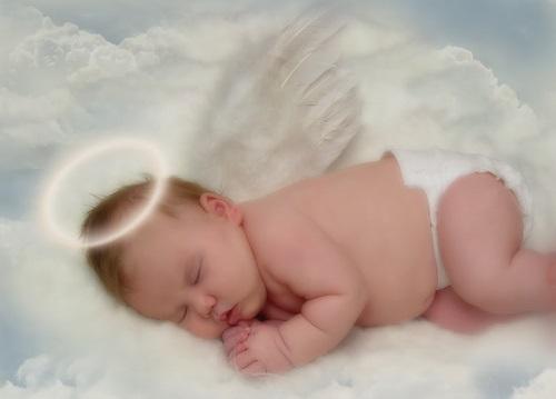 Imágenes Tiernas De Bebes Disfrazados De Angelitos