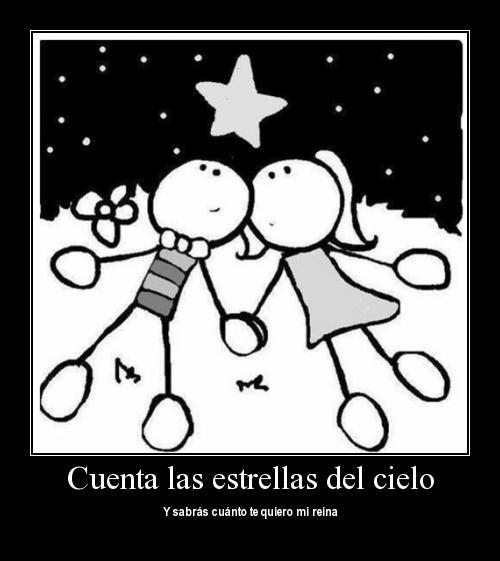 cuenta las estrellas del cielo