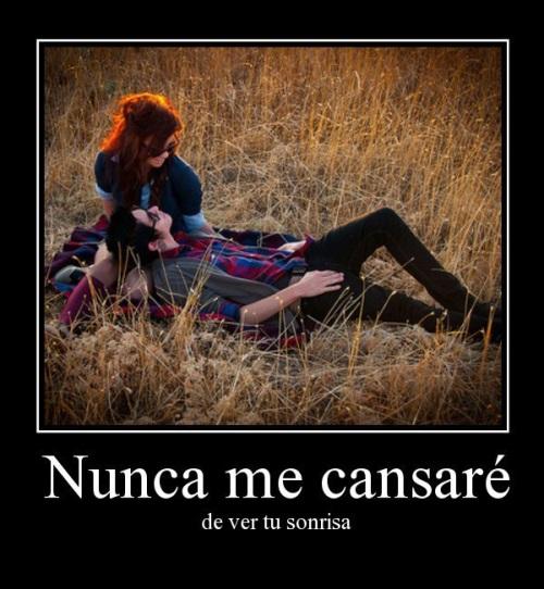 amo tu sonrisa