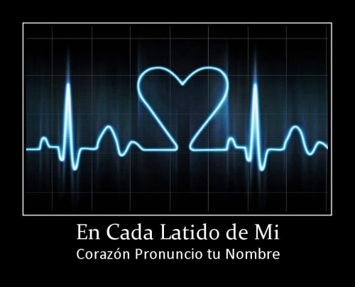tu nombre en mi corazon