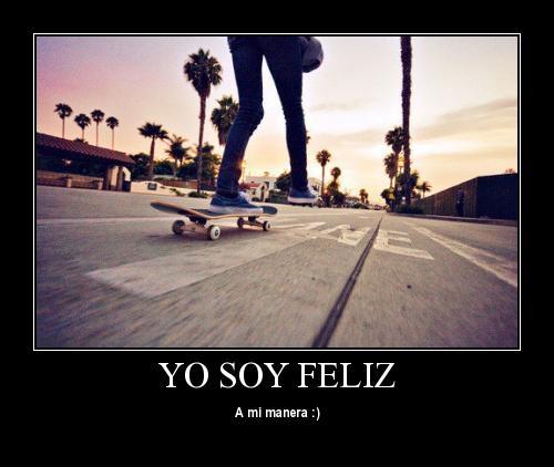 yo soy feliz