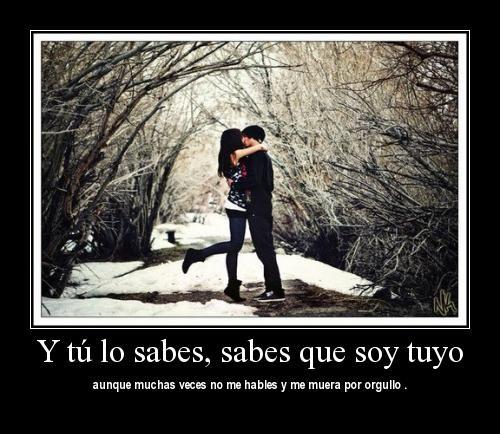 soy tuyo