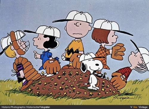 charlie brown y sus amigos