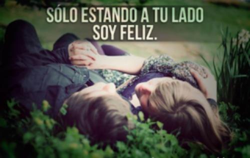 solo a tu lado soy feliz