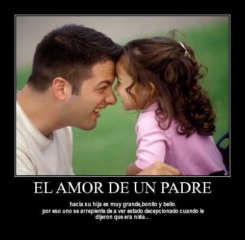 el amor de padre