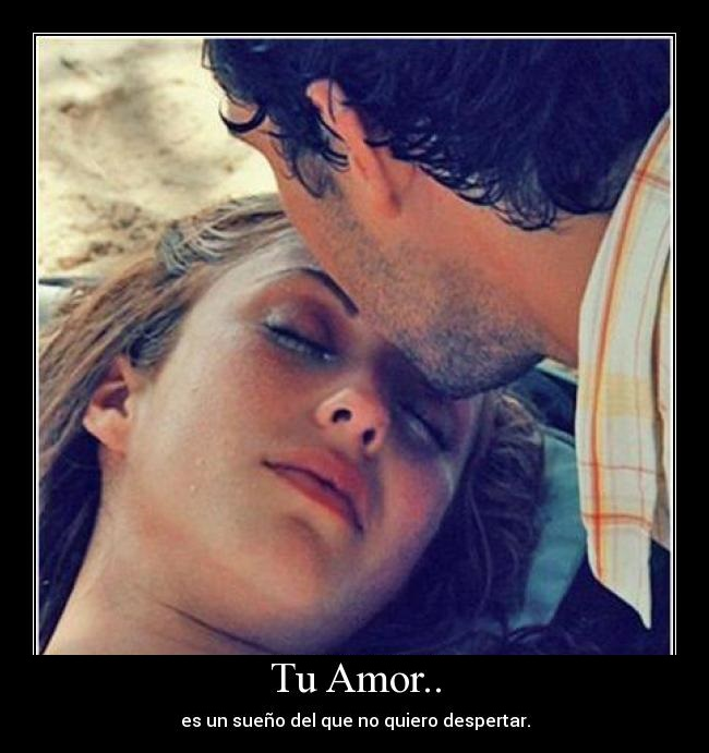 Tu amor es el sueño