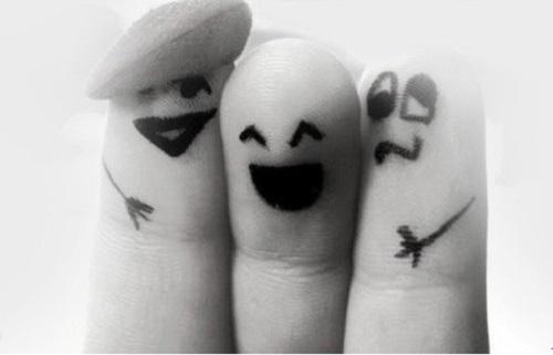Dedos divertidos