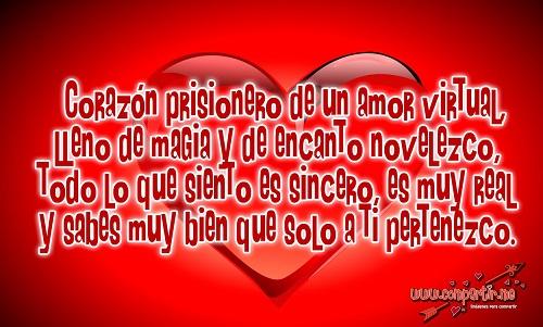 Versos tiernos de amor