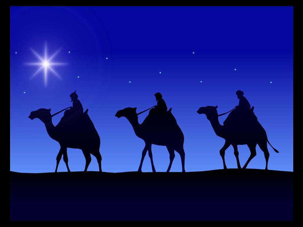 Imágenes tiernas de los Reyes Magos