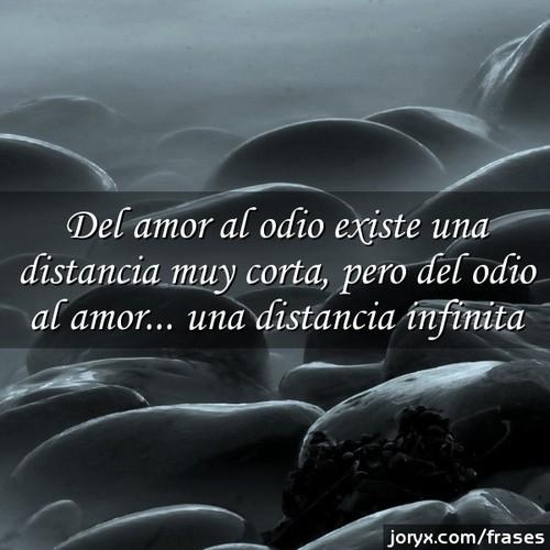 Mi amor está lejos de mi