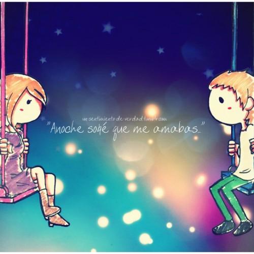imagenes tiernas El amor es un sueño
