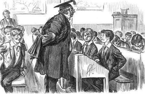 El alumno y el profesor