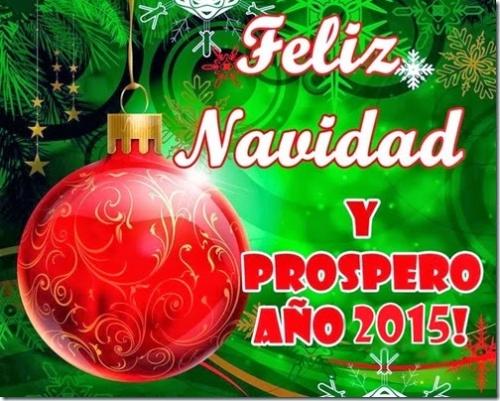 Navidad 2015 - Felices fiestas