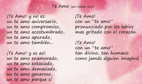 Poemas para el día de los enamorados