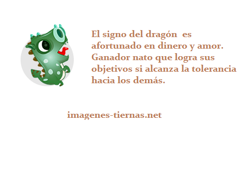 horoscopo chino dragon